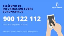 Teléfono de información sobre coronavirus